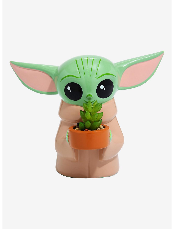 Mini Maceta Adorno Bebe Yoda