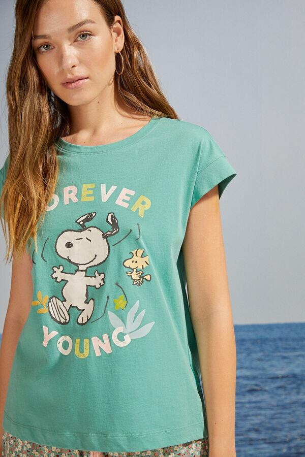 Pants Pijama Snoopy Verde2021