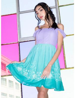 Vestido Disney Ariel La Sirenita A21