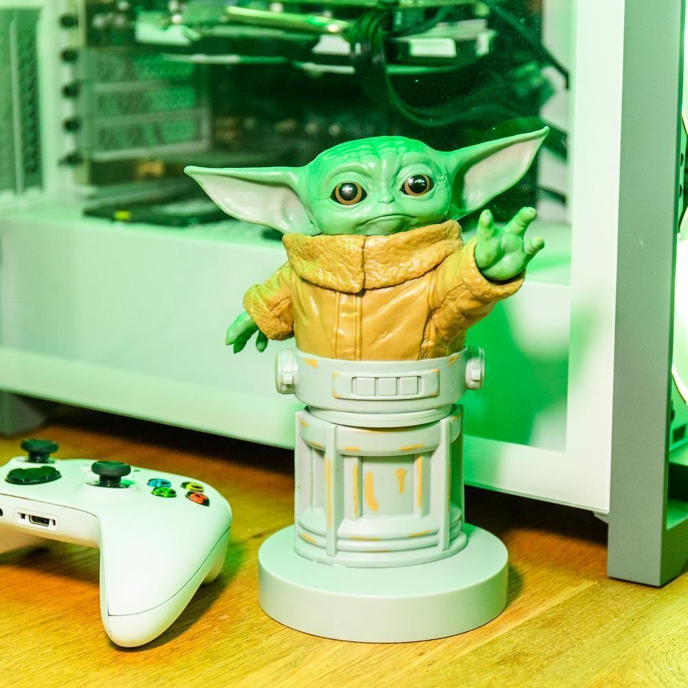 Figura Sujetador Mandalorian Bebe Yoda