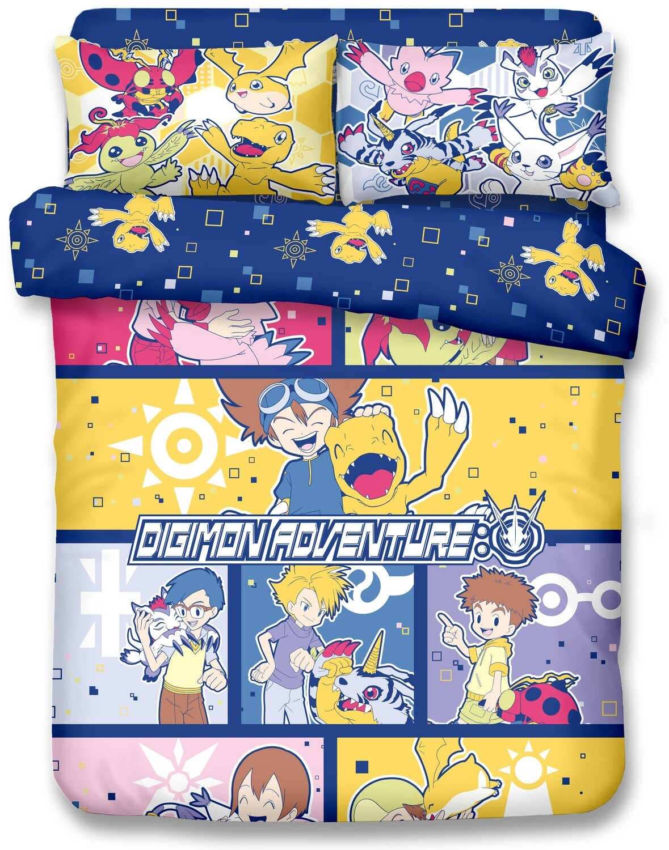 Set para Cama Digimon x21