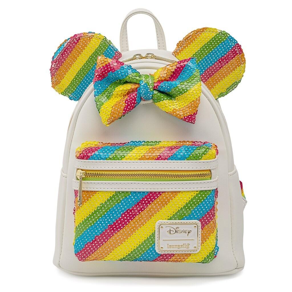 Bolsa Mickey Minnie Mouse Arcoiris 21