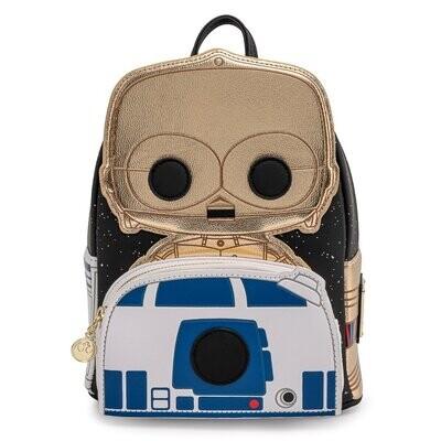 Bolsa Mochila C-3PO AND R2-D2 Exclusiva