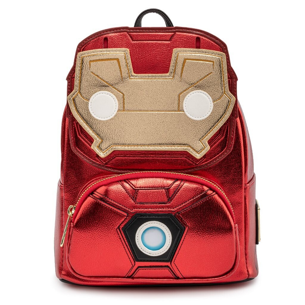 Bolsa Mochila Iron Man Luz