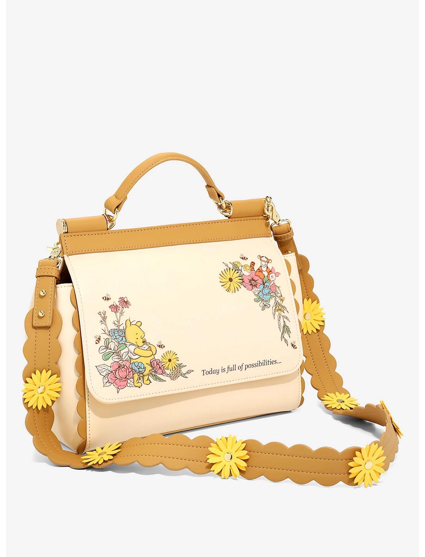 Bolsa Winnie Pooh Flores X21