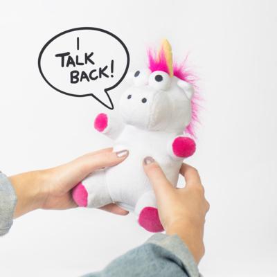 Peluche Unicornio Habla