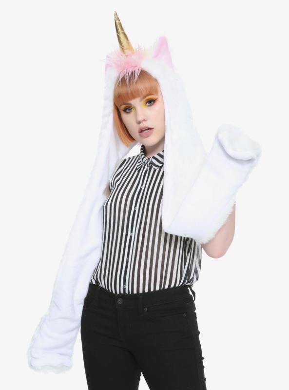 Gorro Bufanda Unicornio