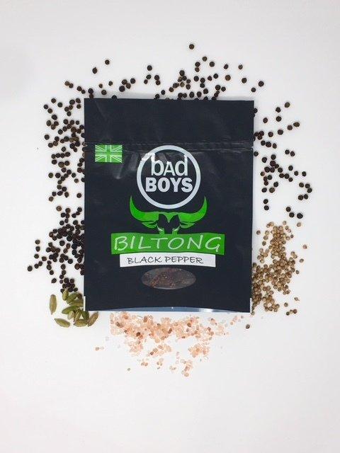 Black Pepper Biltong 50g