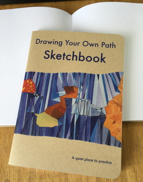 Drawing Your Own Path Sketchbook