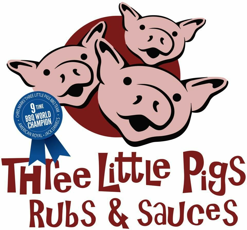Three Little Pigs Rubs 12 oz
