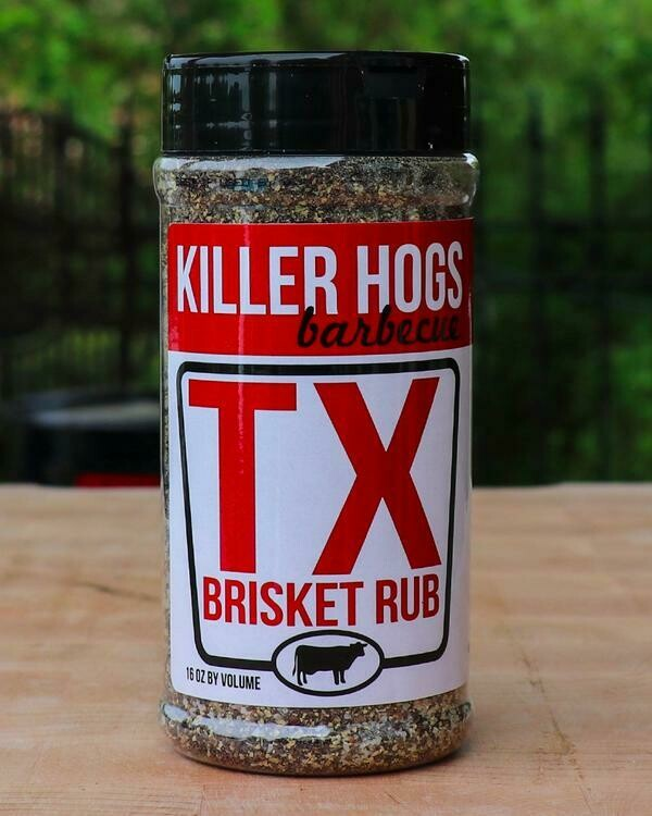 Killer Hogs Texas Brisket Rub 14 oz