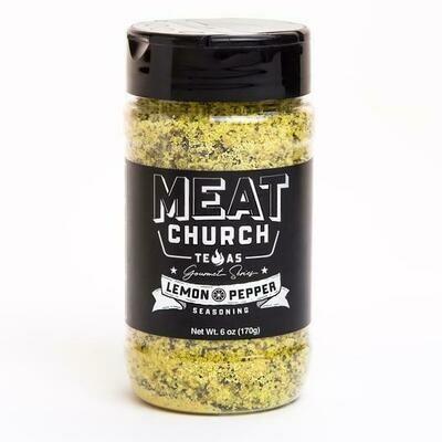 Meat Church Lemon Pepper 6 oz