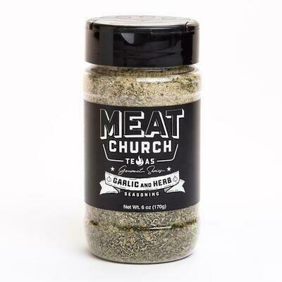 Meat Church Gourmet Garlic 6 oz
