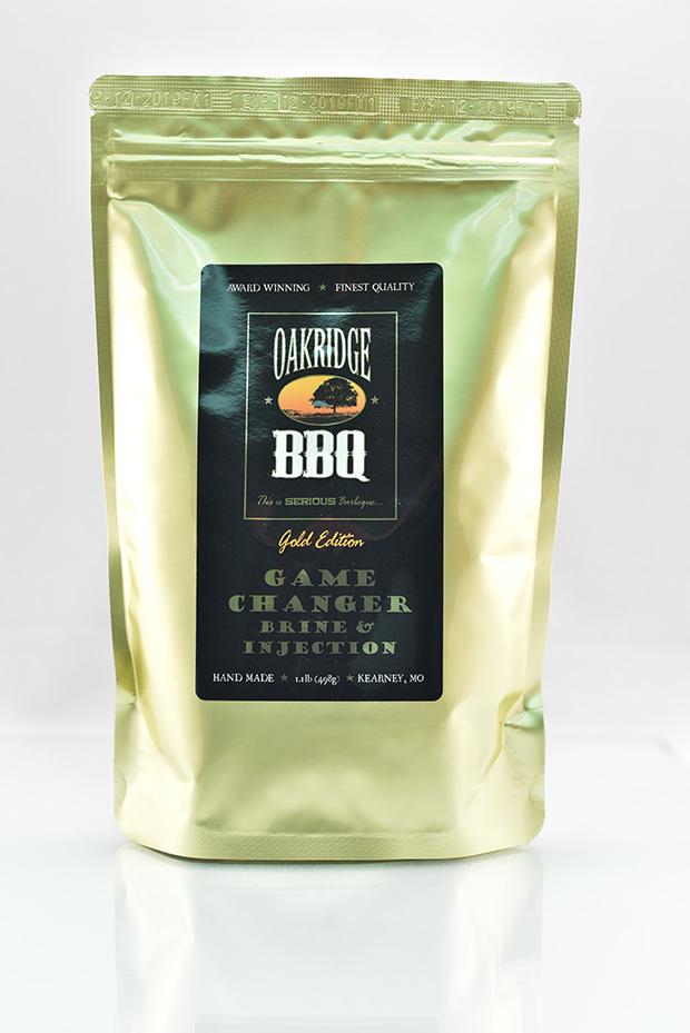 Game Changer  - Oakridge BBQ