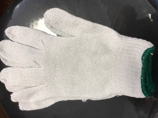 Cotton gloves - 5 Pair  Size m/lg