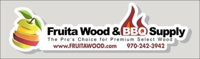 Fruita Wood Bumper Sticker