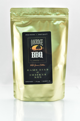 Game Bird & Chicken Rub - Oakridge BBQ