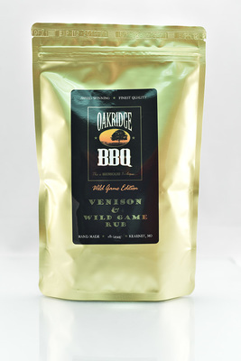Venison & Wild Game Rub - Oakridge BBQ