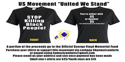 "US Movement ""United We Stand"" T-shirt"
