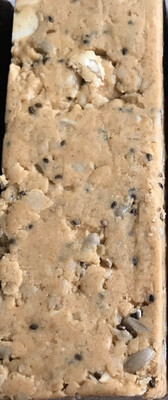 Natural Peanut Butter Low Carb Chia protein Bar