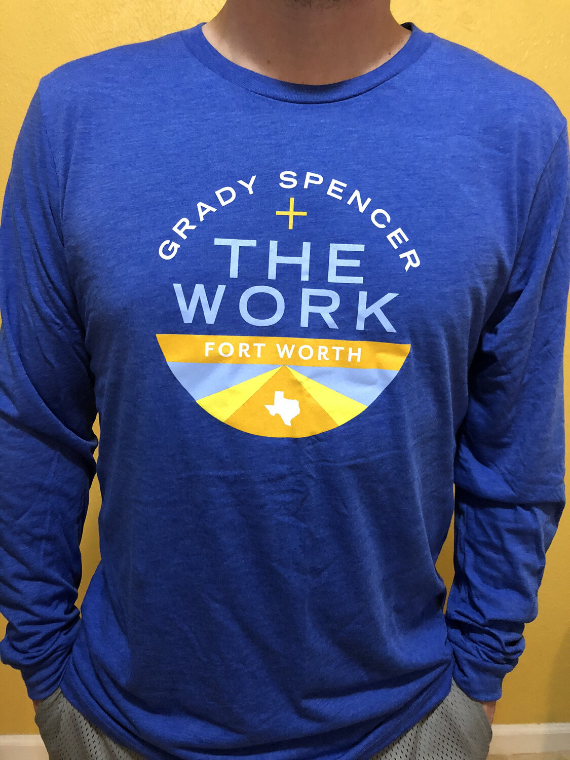 Long Sleeve Fort Worth Circle Tee - S/XL/2X ONLY