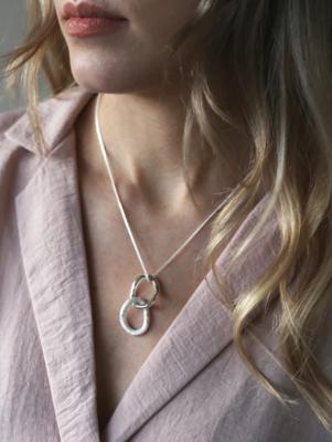 Tutti & Co Fusion Necklace Silver