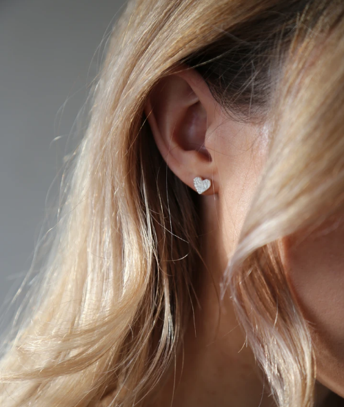 Tutti & Co Admire Earrings Silver