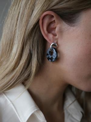 Tutti & Co Sculpt Earrings Silver
