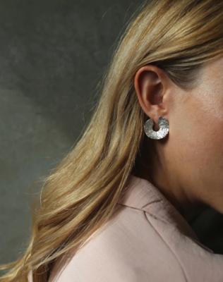 Tutti & Co Sole Earrings Silver