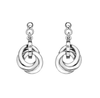 Hot Diamonds Calm Earrings