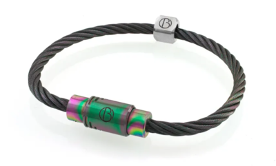 Bailey of Sheffield | CABLE™ Rainbow Bracelet