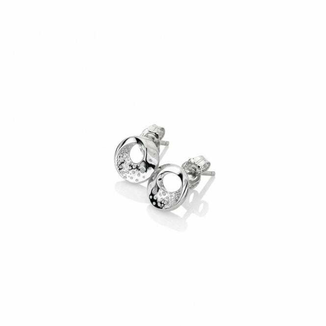 Hot Diamonds Quest Circle Stud Earrings