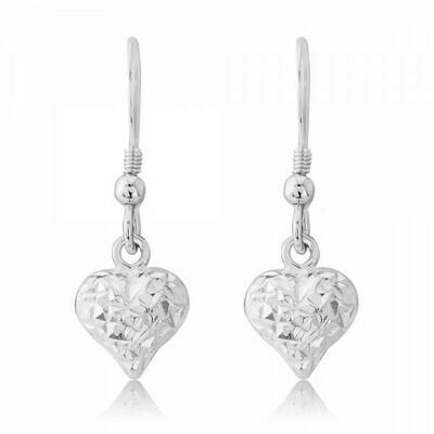 Trink Love Heart Earrings