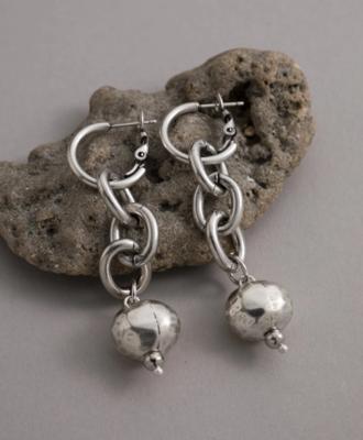 Danon Kythira Earrings Silver