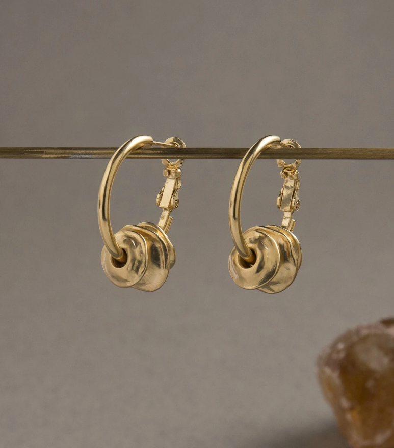 Danon Epirus Earrings - Gold