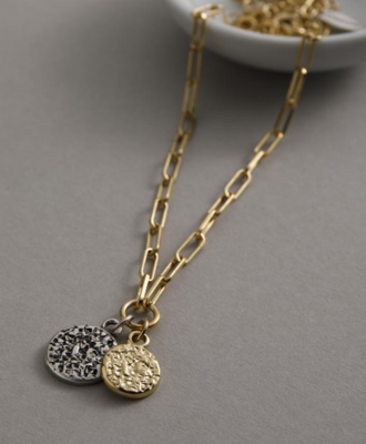 Danon Rhodium Necklace