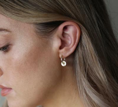 Tutti & Co Cedar Earrings Gold