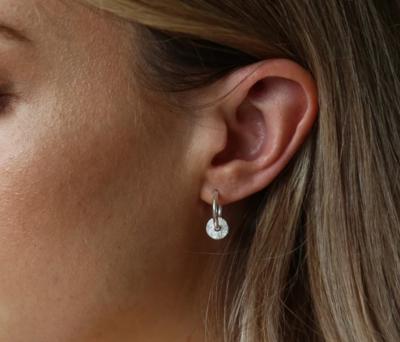 Tutti & Co Cedar Earrings Silver