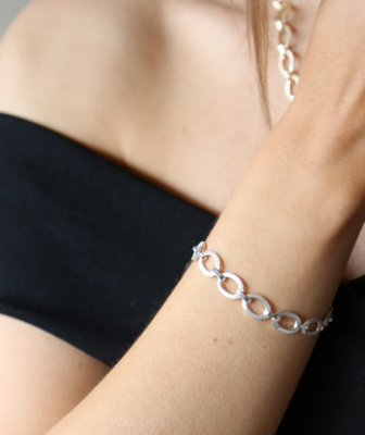 Tutti & Co Harbour Bracelet Silver