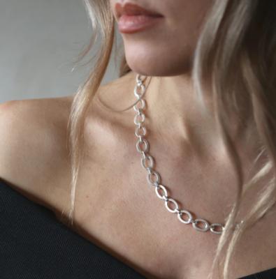 Tutti & Co Harbour Necklace Silver