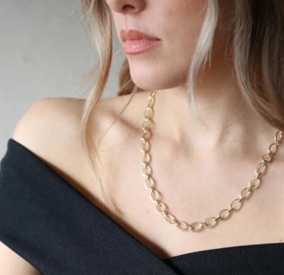 Tutti & Co Harbour Necklace Gold