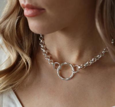 Tutti & Co Ash Necklace Silver