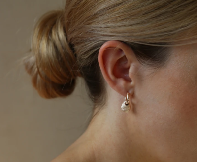 Tutti & Co Priory Earrings Gold