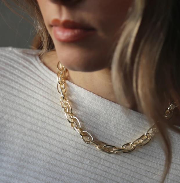 Tutti & Co Ria Necklace Gold