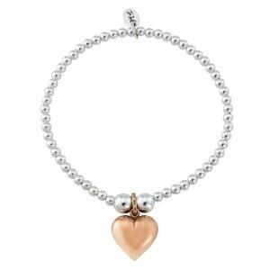 Trink Circle Heart of Gold Bracelet