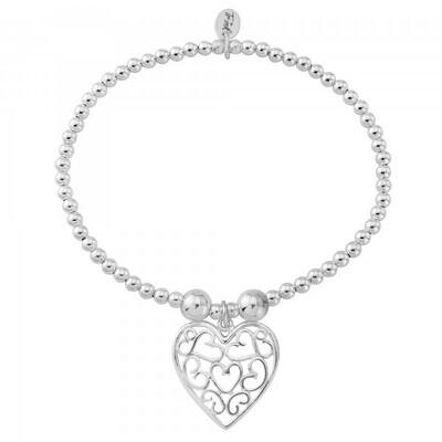 Trink Circle Sweet Heart Bracelet