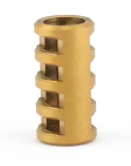 Bailey of Sheffield | Matte Gold Jacob's Ladder Bead