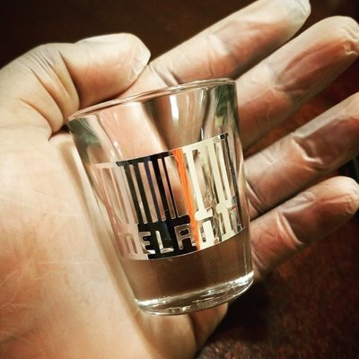 Melanin Shot Glass