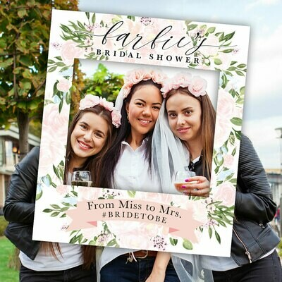 Photo sign prop
