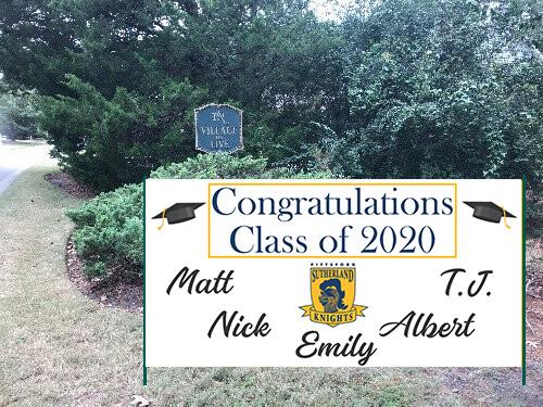Neighborhood Senior Recognition Banner